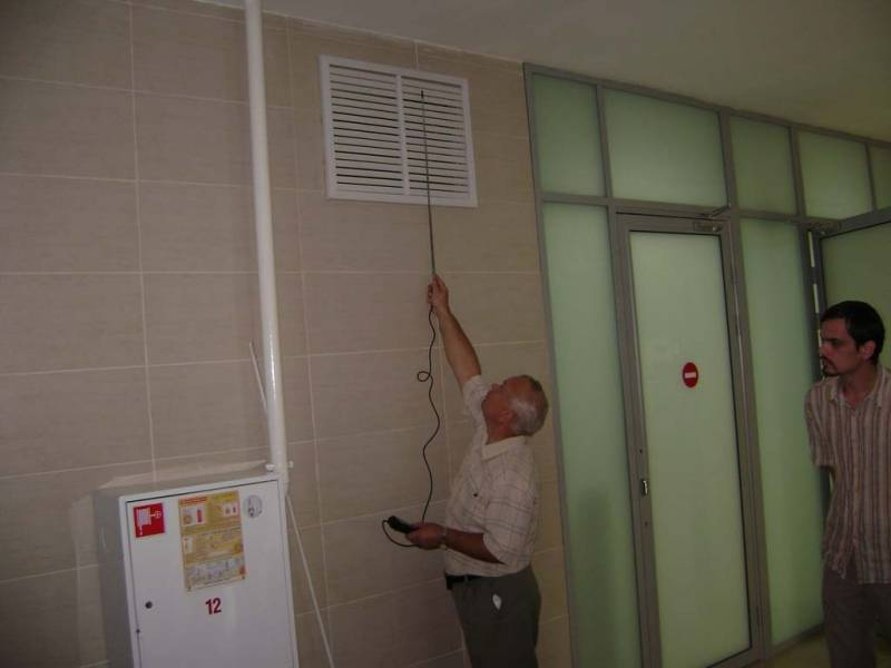 Проверка систем дымоудаления
