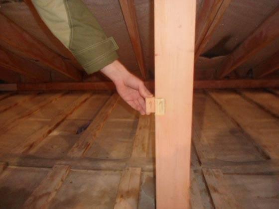 Проверка огнезащитной обработки деревянных конструкций