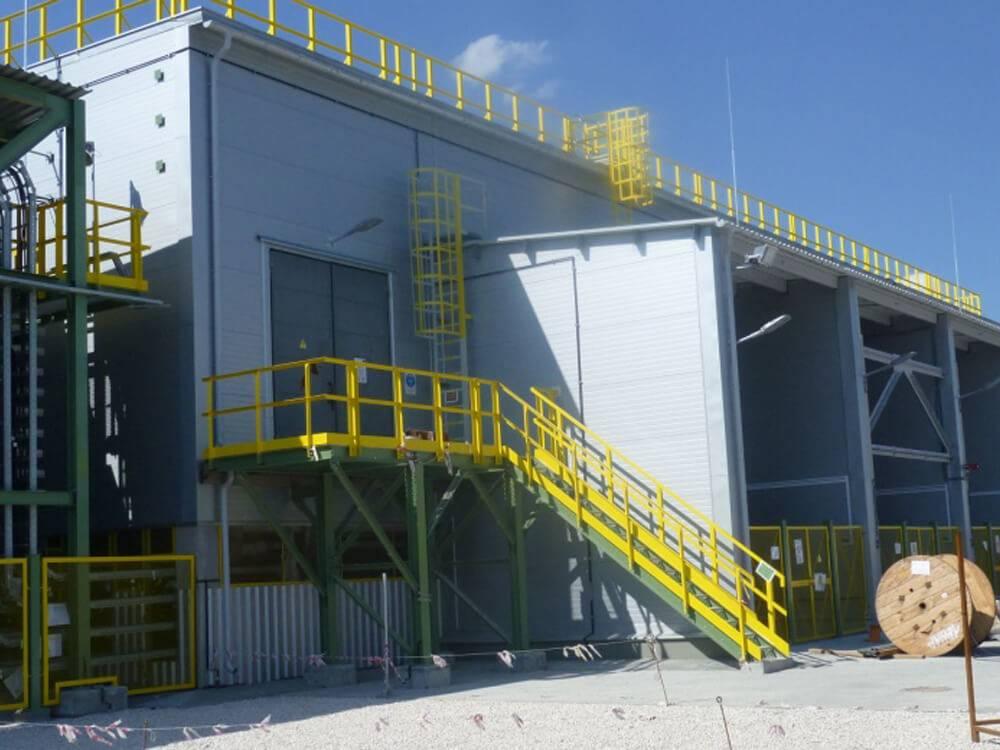 Провелиоценку качества огнезащитной обработки металлических конструкций на объекте «Производство аммиака, Подстанция СА 41»